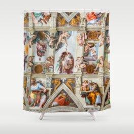 Vatican: Michelangelo's Sistine Chapel / Creation of Adam Shower Curtain