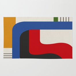 TAKE ME OUT (abstract geometric) Rug