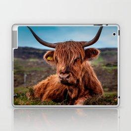 Scottish Highland longhorns Rancher Laptop & iPad Skin