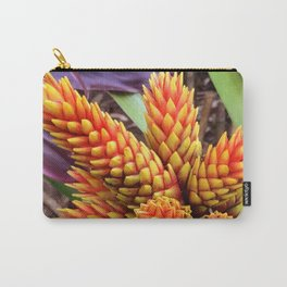 Hawaiian Tropical Elegant Jungle Flower Carry-All Pouch