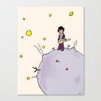 the little prince Canvas Prints featuring Little Prince by Anchor Comics