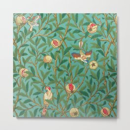 "William Morris ""Bird & Pomegranate"" 2. Metal Print"