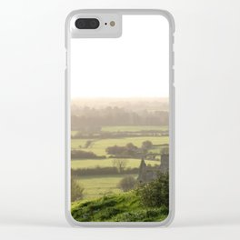 Green Meadow of Ireland Clear iPhone Case