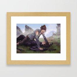 Reylo - Fight Framed Art Print