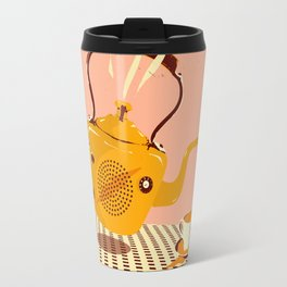 ORANGE TEA SPILL Travel Mug