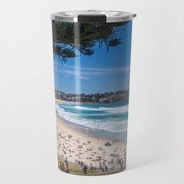 Bondi Beach looking north. Travel Mug