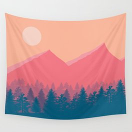 The Calm Before The Storm Wall Tapestry