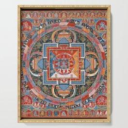 Mandala of Jnanadakini Serving Tray