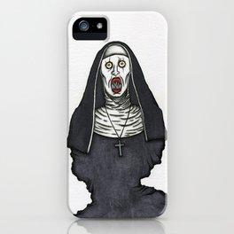 The Nun iPhone Case