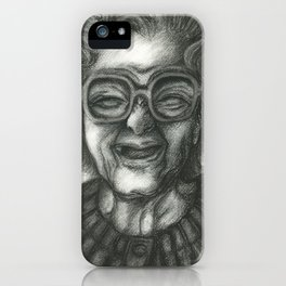 Grandmother Time iPhone Case