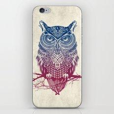 Evening Warrior Owl iPhone Skin