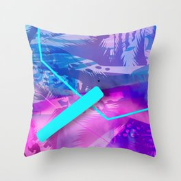 Cat Reflections Bootylicious Throw Pillow