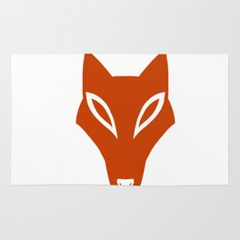 Simple Fox Rug