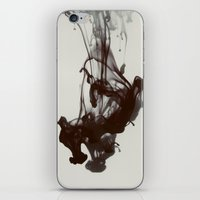 smoke iPhone & iPod Skins featuring Smoke by Elsa Harley