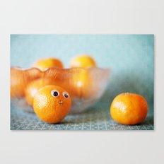 Hi, Little Cutie! Canvas Print
