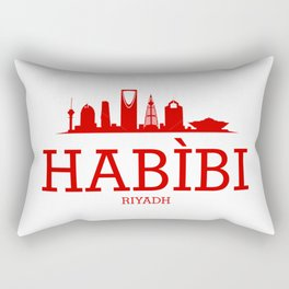 Habibi Riyadh Rectangular Pillow