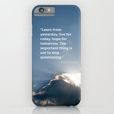 Live for today iPhone 6 Slim Case