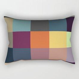 Pixel Patchwork Kappa Rectangular Pillow