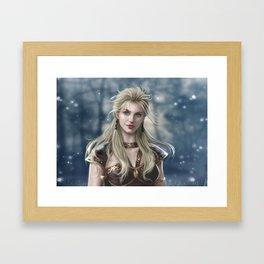 XWP: Brunhilda Framed Art Print