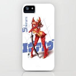 Ev A Ev - Shikinami iPhone Case