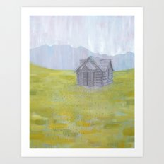 Safe Pasture Art Print