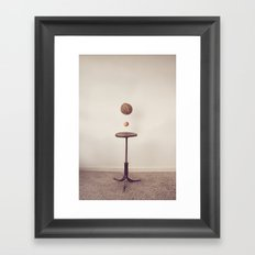 The Coconut Shy Framed Art Print