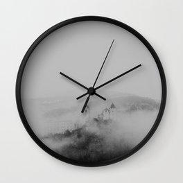 Dark Castle Wall Clock