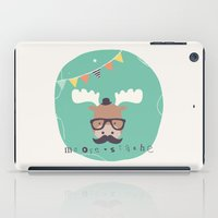 monty python iPad Cases featuring Monty Mouse by Little Joy Designs