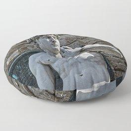 The Statue of David Floor Pillow