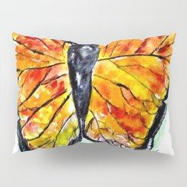Glass Butterfly Digitally Enhanced Pillow Sham