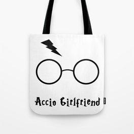 Accio Girlfriend Tote Bag