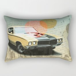 Buick Gran Rectangular Pillow