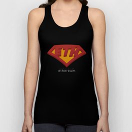 ETH Power Man - Ethereum Shirt Unisex Tank Top