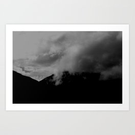Descending Art Print