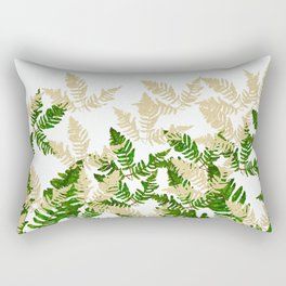 PALM LEAF FERN LEAF TROPICAL Rectangular Pillow