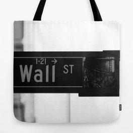 Wall St. Minimal - NYC Tote Bag