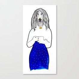 Serie Double animal Canvas Print