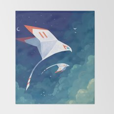Flyby Throw Blanket