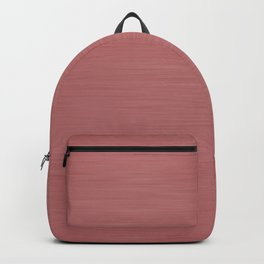 Hand Painted Dark Rose Gold Backpack