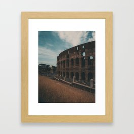 Coliseum Framed Art Print