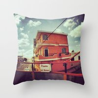 mexico Throw Pillows featuring Mexico by wendygray