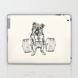 English Bulldog Lift Laptop & iPad Skin