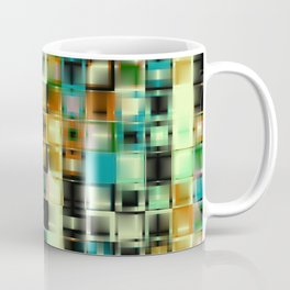 Graphics. The green squares. Coffee Mug