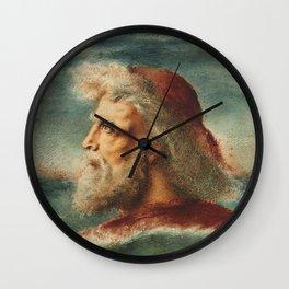 "Simeon Solomon ""St. Peter on the sea"" Wall Clock"