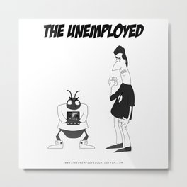 The Unemployed - Sam&Yoko Metal Print