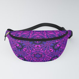 Pink and Purple Kaleidoscope Fanny Pack