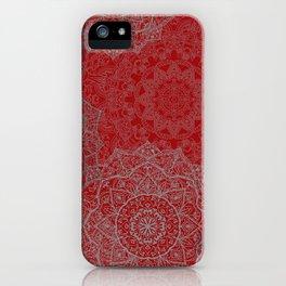 Purple Watercolor Mandala iPhone Case