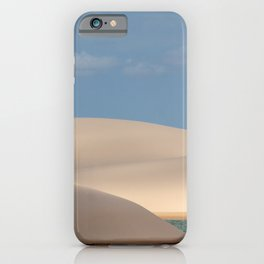 Sandy dunes iPhone Case