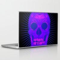 calavera Laptop & iPad Skins featuring Calavera by Joe Baron