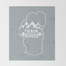 Train Higher Tahoe Throw Blanket